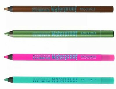 BOURJOIS Contour Clubbing Waterproof Eyeliner Pencil 1.2g. Choose Your Shade x