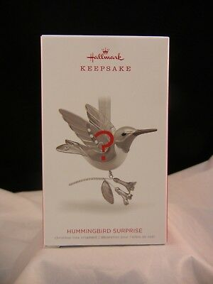 Hallmark Keepsake Ornament 2018 Hummingbird Surprise Unopened NIB