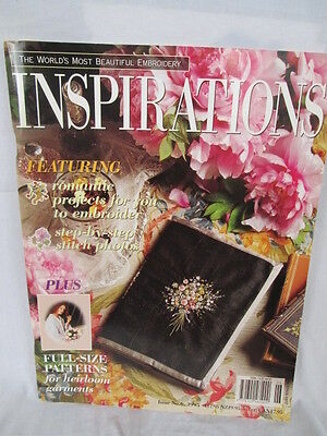 Inspirations magazine (embroidery etc) Issue No 6