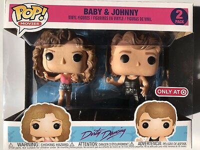 Funko Pop! Movies Baby & Johnny 2 Pack Dirty Dancing Target Exclusive *IN HAND*