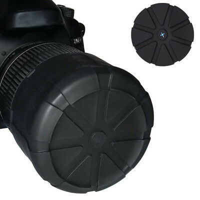 Lens Cover Silicone Waterproof Anti-Dust Universal Protector For DSLR SLR Camera