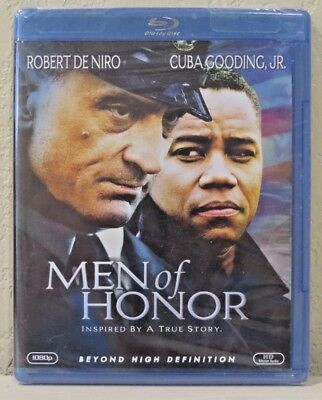 Men of Honor (Blu-ray Disc, 2007) BRAND NEW>FREE SHIPPING!
