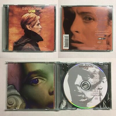 DAVID BOWIE Low CD GREEN JEWEL CASE (1991 Rykodisc - RCD 10142) BONUS TRACKS