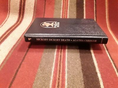 HICKORY DICKORY DEATH Agatha Christie Mystery Collection Bantam Hardcover 1984