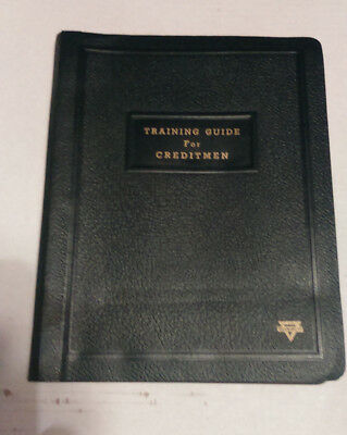 Vintage Conoco Training Guide For Creditmen 1958 Booklet, Free Shipping!!