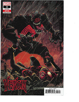 VENOM 3 2018 RYAN STEGMAN 2nd PRINT VARIANT 1st APP. KNULL SOLD OUT  CBG 613