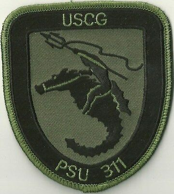 Us Coast Guard Port Security Unit 311 Patch