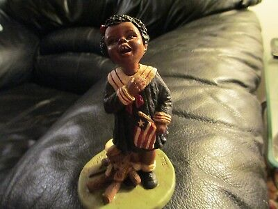"I991 M.Holcombe ""GOD IS LOVE"" Nellie #46 Figurine African American Sculpture art"