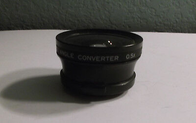 Tiffen Super-Wide Angle Converter Lens 0.5X 37mm Snap On No CAPS - Japan