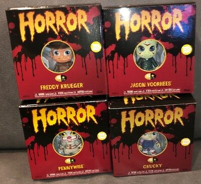 Funko 5 Five Star Jason Voorhees Freddy Pennywise Chucky Horror IN STOCK Pop