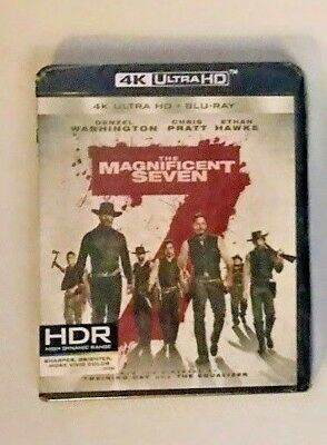 The Magnificent Seven 4k Ultra HD  Blu-ray UHD Brand New Factory Sealed