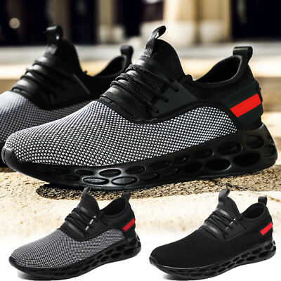 Men's Ultralight Sneakers Outdoor Breathable Running Casual Tennis Athletic UK12