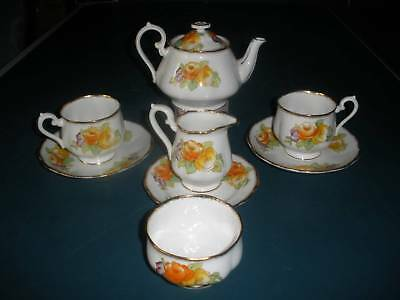 Very old ROYAL ALBERT  crown china tea set 1920- 30s