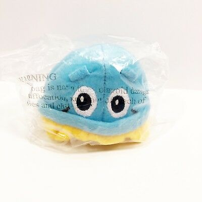 "Scrubbing Bubbles Promotional Plush Light Blue Yellow 2013 S.C. Johnson 4"" Toy"