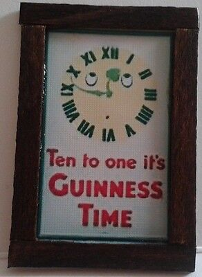 Dolls House A Guinness Sign