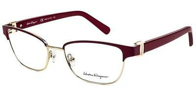 6b544b2fc5 NEW SALVATORE FERRAGAMO SF2761-998-5217 Geometric 52mm Eyeglasses ...