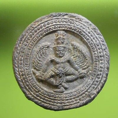 Perfect! Old Thai Buddha Amulet Phra Lopburi Very Rare