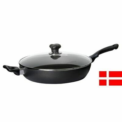 Scanpan - Ergonomic Handled Saute Pan with Lid 32cm (Made in Denmark)