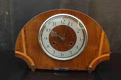 art deco mantle clock late Edwardian