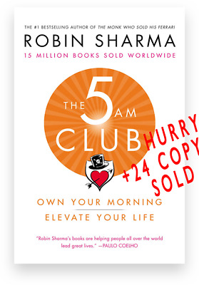 The 5am Club: Change Your Morning, Change Your Life by Robin Sharma + FREE GIFT!