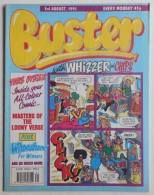 BUSTER COMIC - 3rd August 1991