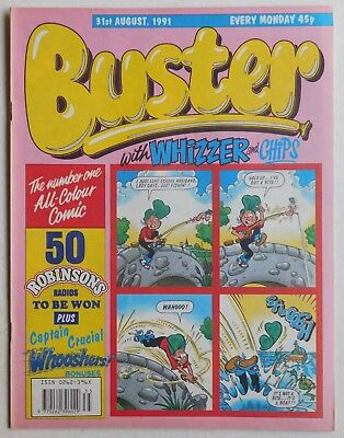 BUSTER COMIC - 31st August 1991
