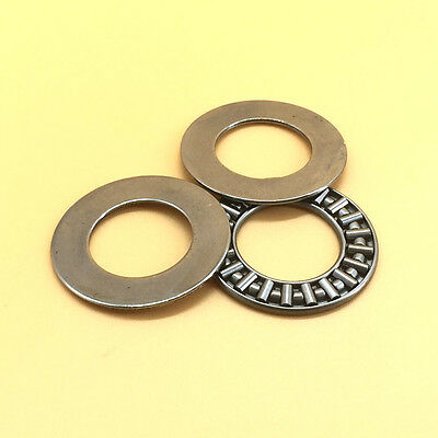 AXK3047 THRUST NEEDLE ROLLER BEARING WITH TWO WASHERS 30mm X 47mm X 2mm A48