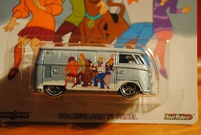 2018 Hot Wheels Pop Culture Warner Brothers Scooby Doo Volkswagen T1 Panel Van