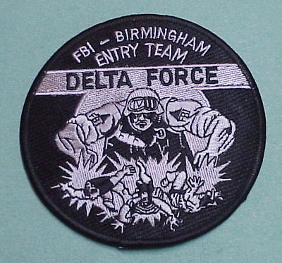 Birmingham  Alabama  Al  Delta Force  Subdued  Police Patch   Free Shipping!!!
