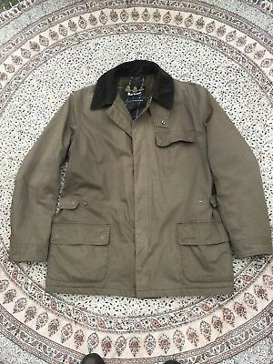 BARBOUR - Olive - Cotton Touch Otterburn - Waterproof & Breathable - Jacket - XL