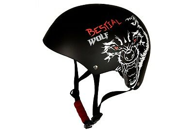 Casco Blackskull Patinaje Ajustable - BMX Patinete Scooter Skateboard