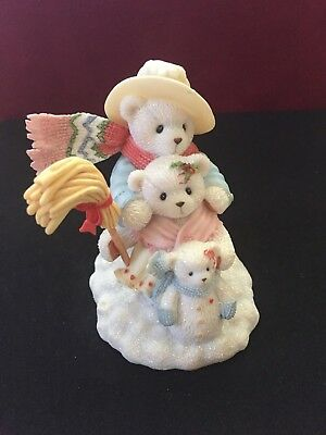 Cherished Teddies Adam, Claire & Kirsty From Big to Small our Family has it all