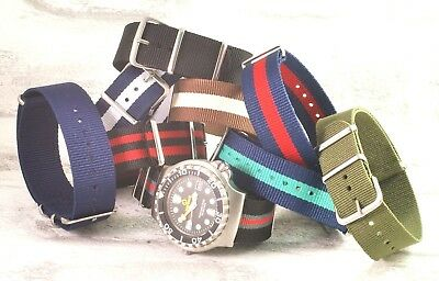 Military nylon NATO watch strap Add a strap tool and new pins for £1     #1
