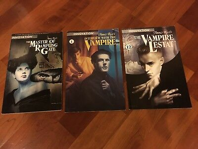 Innovation Comics- Anne Rice: Interview with the Vampire; The Vampire Lestat...