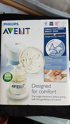 Phillips Avent Single Electric Breast Pump Mains or Battery