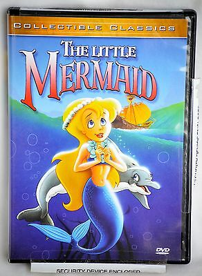 Collectible Classics The Little Mermaid DVD Like New-