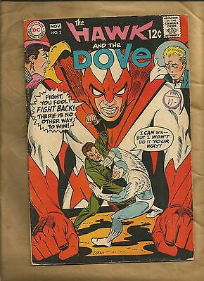 The Hawk and the Dove #2 fn- 1968 Steve Ditko Silver Age DC Comics US comics