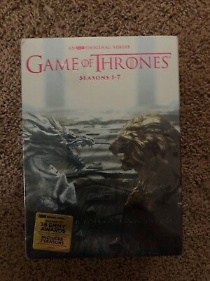 NEW Game of Thrones: The Complete Seasons 1-7 (DVD, 2017) 1234567 US Seller