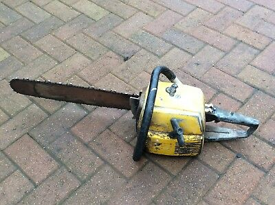 Partner Chainsaw Petrol Chain Saw Vintage Sold For Spares or Repairs