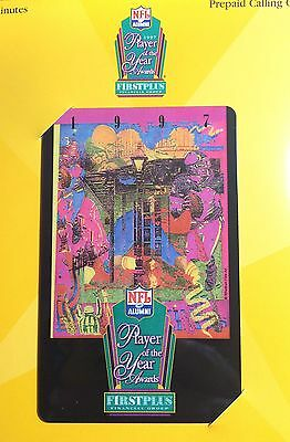 """1997 NFL """"Player of the Year Awards"""" Phone Card"""