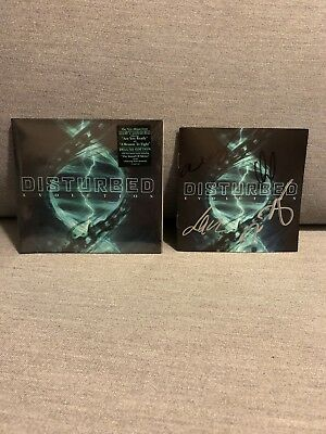 Evolution by Disturbed Deluxe Edition CD 2018 Bonus Signed Autograph Booklet