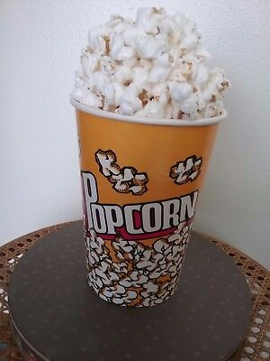 Realistic Display POPCORN * Prop Fake Food Replica Faux Decor * Artificial