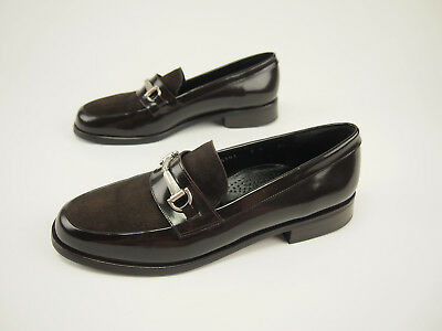 bb30c3ce1cd BOEMOS MADE IN Italy Womens Suede Leather Camo Loafer Shoes Sz 9 Fit ...