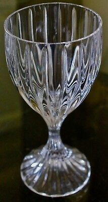 Mikasa Park Lane Crystal Wine Glasses 6 3/8Th Inch