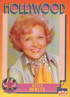 BETTY WHITE 1991 Hollywood Walk of Fame Celebrity Trading Card #148