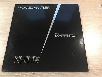 LP WATT Works WATT/15 Michael Mantler with Don Preston Alien GERMAN VINYL 1985