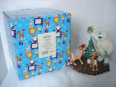 Enesco Rudolph Island of Misfit Toys, Bumble's Shining Moment Large figurine NIB