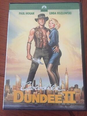 CROCODILE DUNDEE 2 R1 DVD Used But Like New Just Look At The Photos