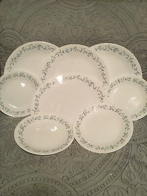 """Set Of 4 Corelle Country Cottage 10-1/4"""" Dinner Plates (59)"""