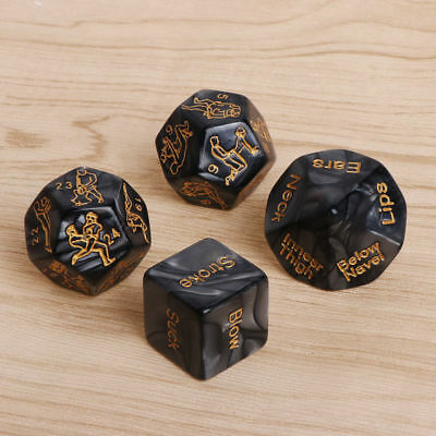 SEX DICE ! Naughty Game For Couples Adult Bedroom Party weekend Sex Aid Pack 4